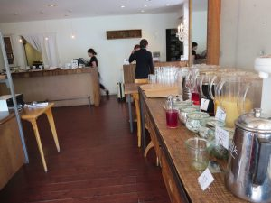 広島市内のカフェ「キャラントトロワ」のドリンク