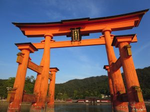 厳島神社 鳥居