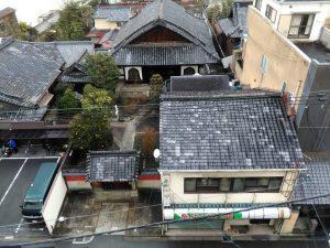 カオサン京都屋上からの眺め