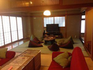 カオサン京都のリビングルーム