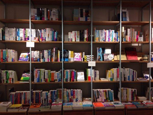 Booklabtokyoは本棚が素敵