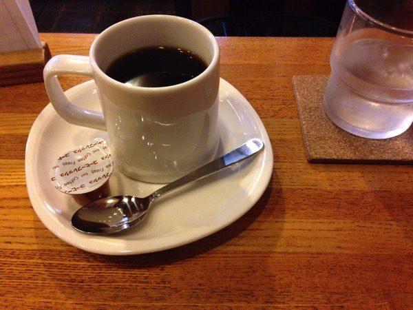 江戸川橋のオンザコーナーのコーヒー