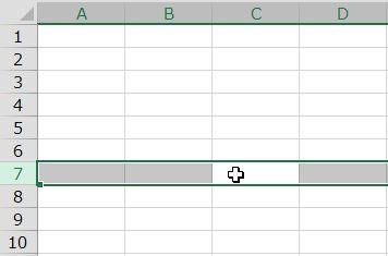 Excel-shortcut-row