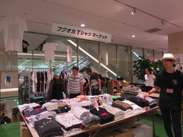 パルコの福岡Tシャツマーケット
