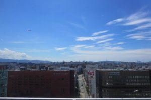 博多の街並みを展望