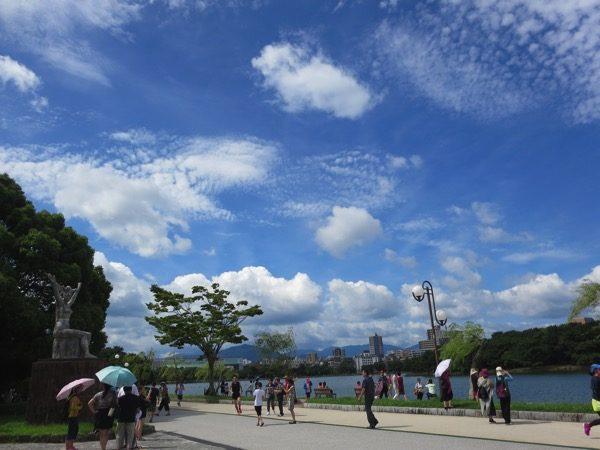 博多の大濠公園