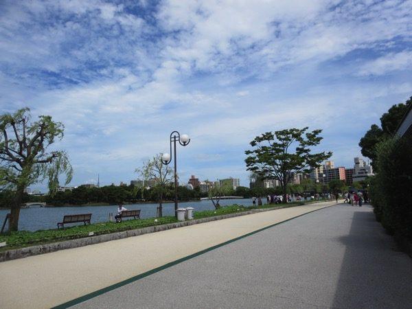 大濠公園のランニングコース