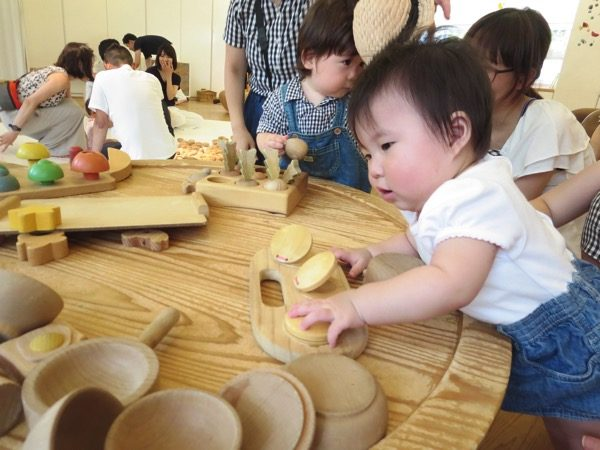東京おもちゃ美術館の木育ひろば
